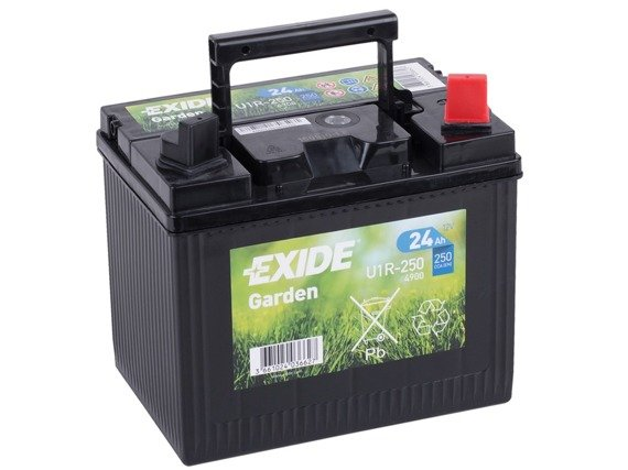 battery 12v 24ah 4900 exide garden akumulatory. Black Bedroom Furniture Sets. Home Design Ideas