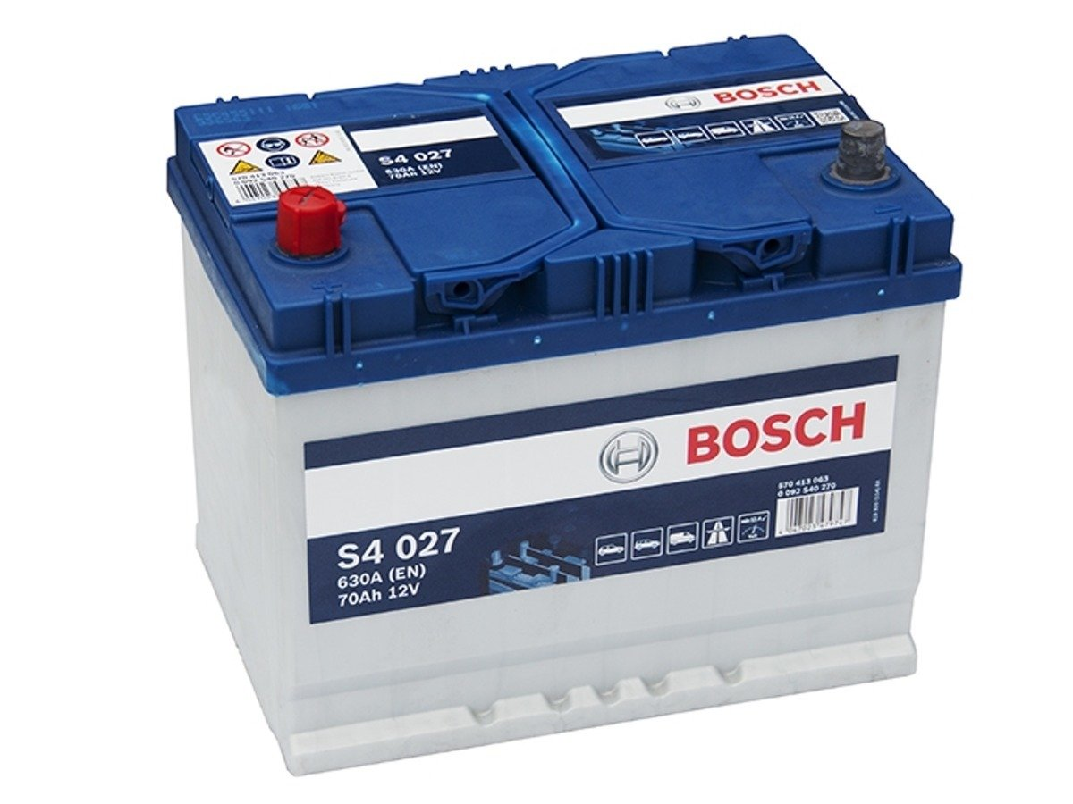 battery 12v 70ah s4027 bosch s4 akumulatory car. Black Bedroom Furniture Sets. Home Design Ideas
