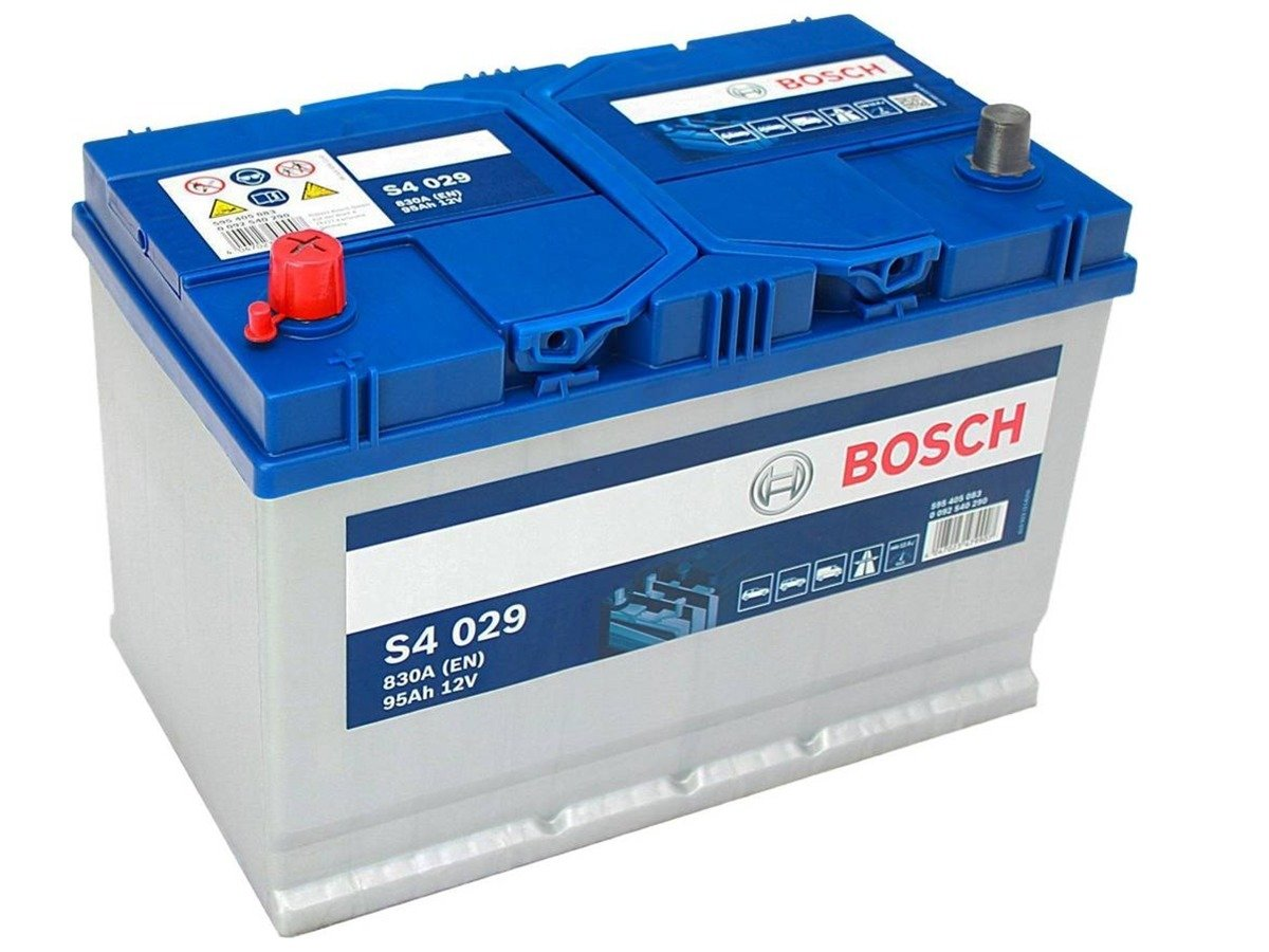akumulator 12v 95ah bosch s4 cb955 s4029 g8 akumulatory car batteries bosch bosch s4. Black Bedroom Furniture Sets. Home Design Ideas
