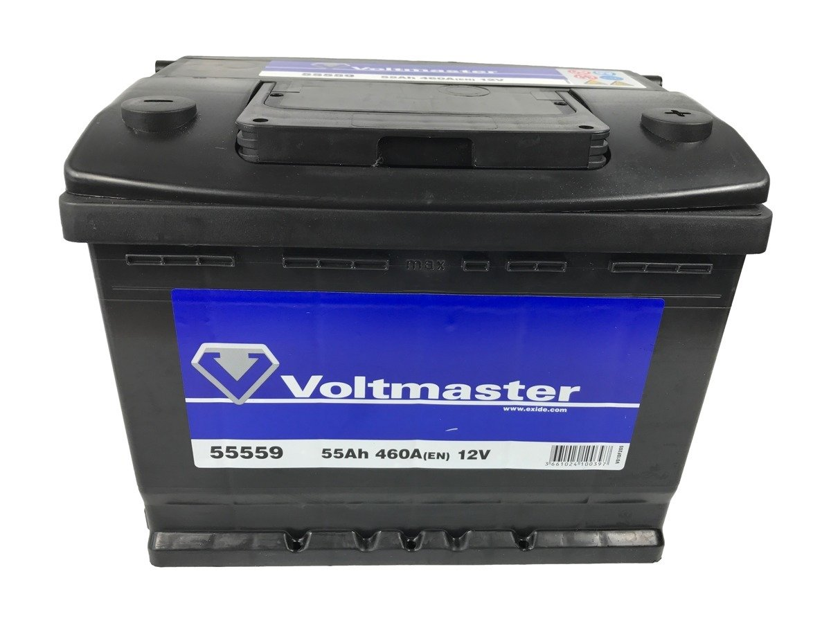 battery 12v 55ah voltmaster 55559 akumulatory car. Black Bedroom Furniture Sets. Home Design Ideas