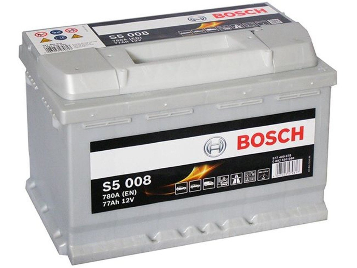 battery 12v 77ah s5008 bosch s5 akumulatory car. Black Bedroom Furniture Sets. Home Design Ideas