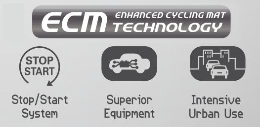 Zastosowanie akumulatorów Exide Micro-Hybrid ECM