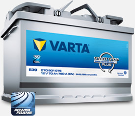 Akumulatory Varta Start-Stop Plus