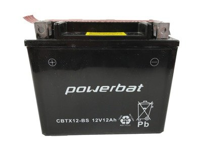 Battery 12 V 10 Ah POWERBAT CBTX12-BS