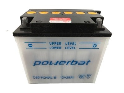 Battery 12 V 28 Ah POWERBAT C60-N24AL-B
