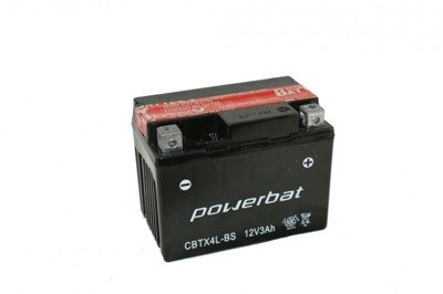 Battery 12 V  3 Ah POWERBAT CBTX4L-BS