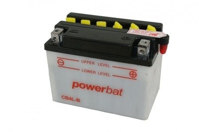 Battery 12 V  4 Ah POWERBAT CB4L-B