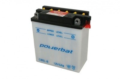 Battery 12 V  5 Ah POWERBAT CB5L-B