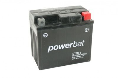 Battery 12 V   6 Ah CT6B-3 MOTO POWER
