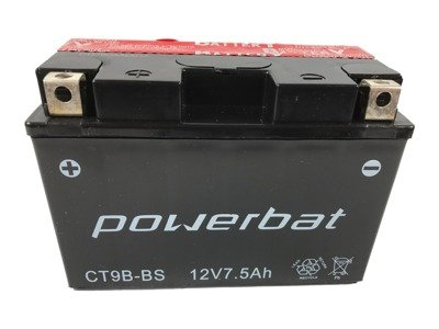 Battery 12 V  8 Ah POWERBAT CT9B-BS (CT9B-4)