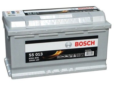 Battery 12V 100Ah S5013 BOSCH S5