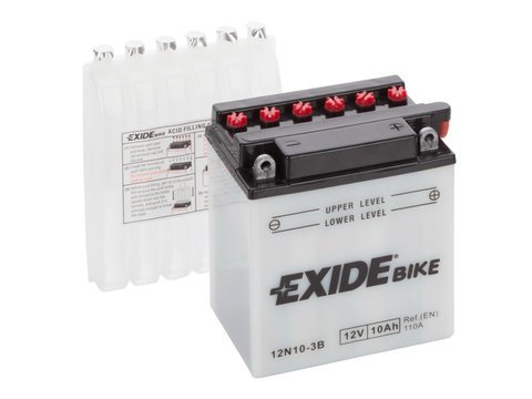 Battery 12V 10Ah 12N10-3B EXIDE Bike