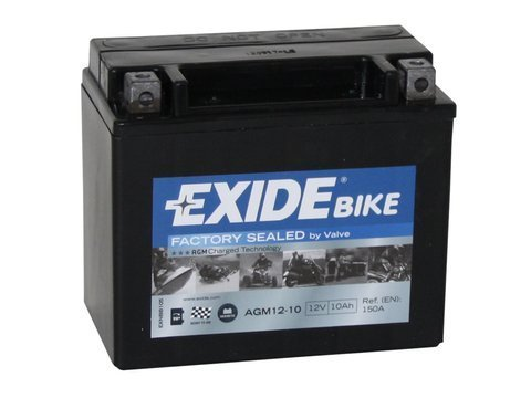 Battery 12V  10Ah AGM12-10 EXIDE