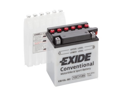 Battery 12V 10Ah YB10L-B2 EXIDE Bike