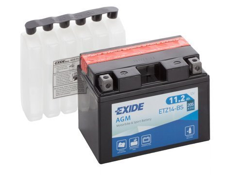 Battery 12V 11,2Ah YTZ12-BS EXIDE