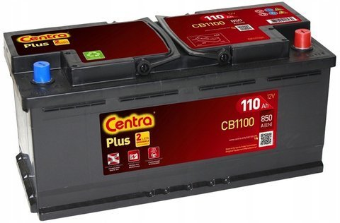 Battery 12V 110Ah CENTRA PLUS CB1100