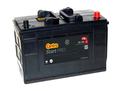 Battery 12V 110Ah CENTRA PROFESSIONAL CG1102