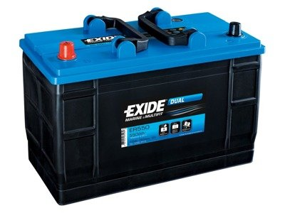 Battery 12V 115 Ah EXIDE DUAL ER550