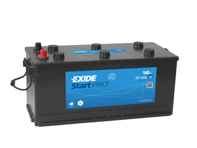 Battery 12V 11Ah EXIDE START-STOP AUXILIARY EK111