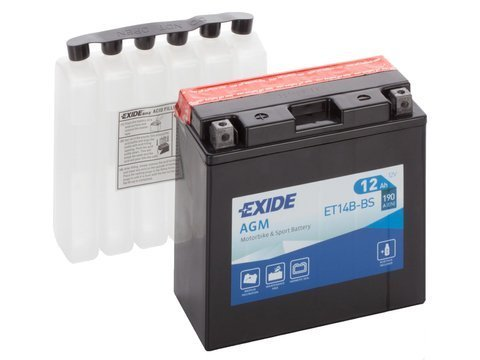 Battery 12V  12Ah YT14B-BS EXIDE