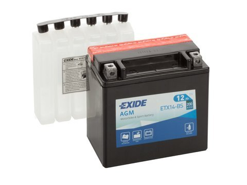 Battery 12V  14Ah YTX14-BS EXIDE