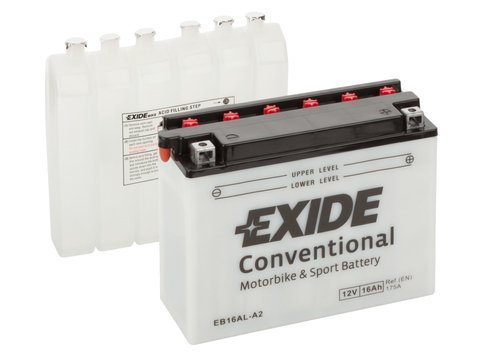 Battery 12V  16Ah YB16AL-A2 EXIDE
