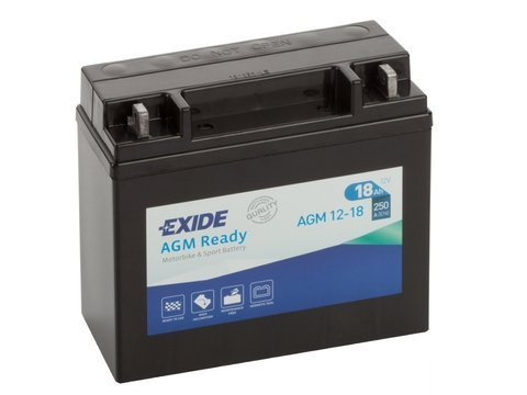 Battery 12V  18Ah AGM12-18 EXIDE