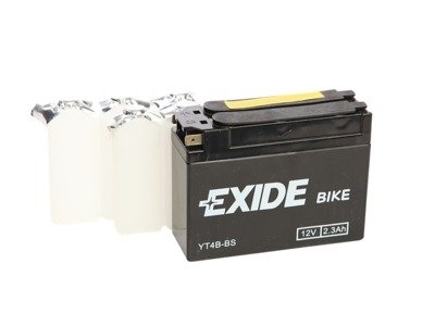 Battery 12V   2,3Ah YT4B-BS EXIDE