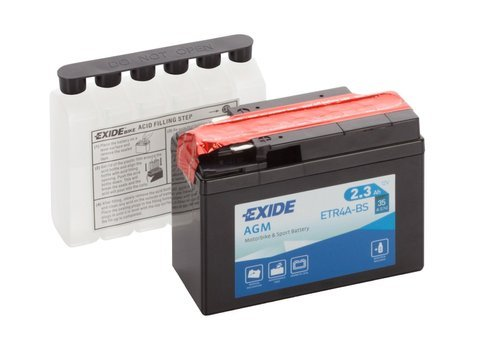 Battery 12V   2,3Ah YTR4A-BS EXIDE