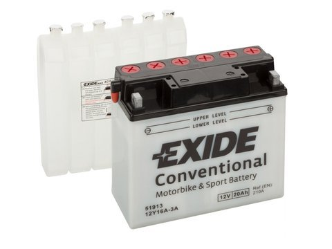 Battery 12V  20Ah 12Y16A-3A EXIDE