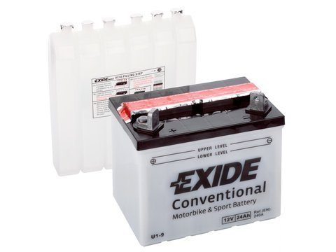 Battery 12V 24Ah U1-9 EXIDE Bike