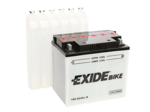 Battery 12V 28Ah E60-N24AL-B EXIDE Bike