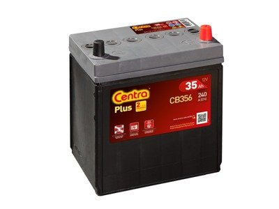 Battery 12V  35Ah CENTRA PLUS CB356