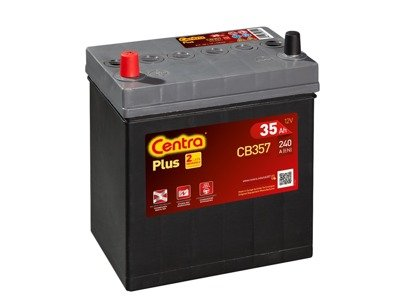 Battery 12V  35Ah CENTRA PLUS CB357
