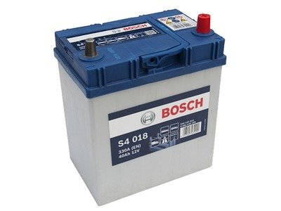 Battery 12V  40Ah S4018 BOSCH S4