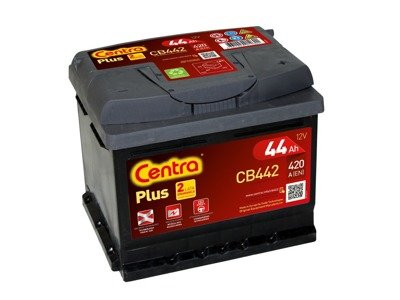 Battery 12V  44Ah CENTRA PLUS CB442