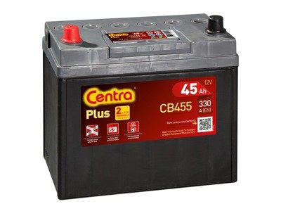 Battery 12V  45Ah CENTRA PLUS CB455