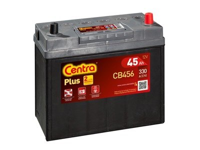 Battery 12V  45Ah CENTRA PLUS CB456