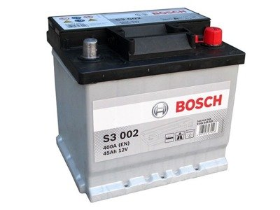 Battery 12V  45Ah S3002 BOSCH S3
