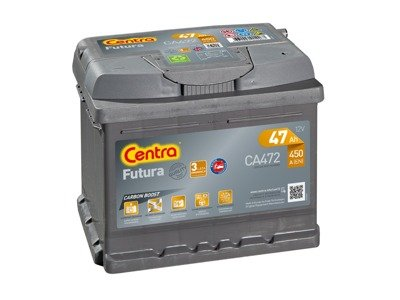 Battery 12V  47Ah CENTRA FUTURA CARBON BOOST CA472