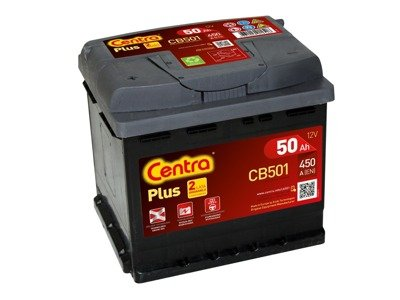 Battery 12V  50Ah CENTRA PLUS CB501