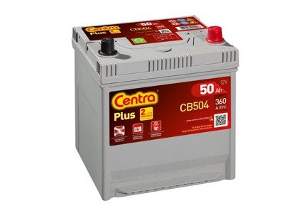 Battery 12V  50Ah CENTRA PLUS CB504