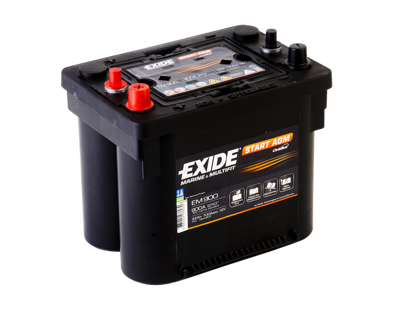 Battery 12V  50Ah EXIDE START AGM EM1000