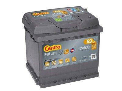 Battery 12V  53Ah CENTRA FUTURA CARBON BOOST CA530