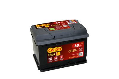 Battery 12V  54Ah CENTRA PLUS CB602