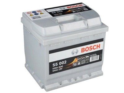 Battery 12V  54Ah S5002 BOSCH S5