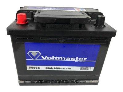 battery 12v 55ah voltmaster 55565 akumulatory car. Black Bedroom Furniture Sets. Home Design Ideas