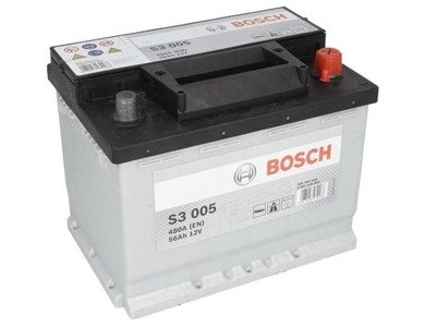 Battery 12V  56Ah S3005 BOSCH S3