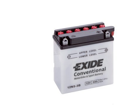Battery 12V   5Ah 12N5-3B EXIDE
