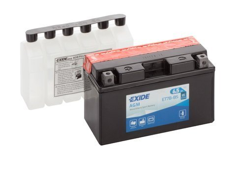 Battery 12V   6,5Ah YT7B-BS EXIDE